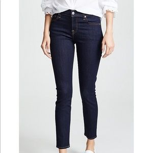 7 for All Mankind Ankle Skinny Jeans (sz 29)